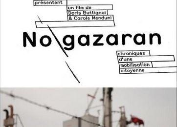 """No Gazaran"" en avant-première à Gardanne le 1. avril 2014"
