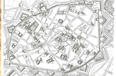 Plan de Dijon en 1705