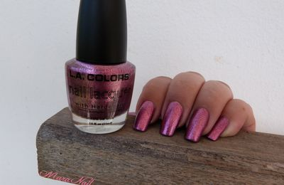 L.A. Colors Metallic pink