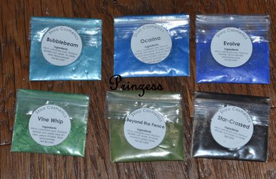 [Avis Produits] Shiro Cosmetics - Pigments libres