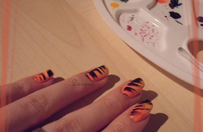[SNB] Halloween Nails + shooting Halloween