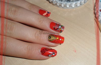 [SNB] Bollywood Nails