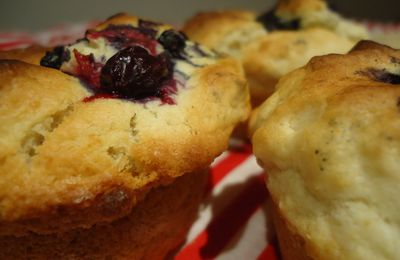 Blueberry & Blackcurrant Muffins
