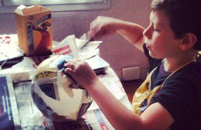 La boite canard : travaux de papier maché