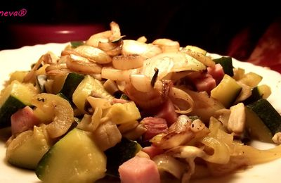 Poêlée de légumes au wok