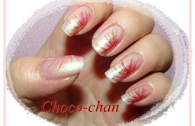 Nail art douceur acide