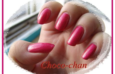 Vernis Easy Paris rose fuschia