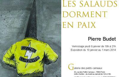 """Expo Dessin Contemporain: Pierre BUDET """"Les salauds dorment en paix"""""""