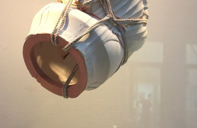 "Expo Sculpture Contemporaine: Morgane TSCHIEMBER ""Polystyrene, Shibari & Co. """