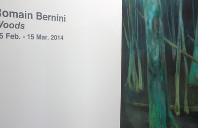 "Expo Peinture Contemporaine: Romain Bernini ""Woods"""