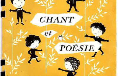 chant et poésie : album 1 - 1963