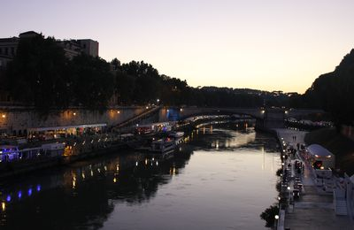 Lungotevere : on sort, ce soir ?