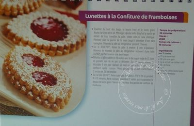 SABLÉS A LA CONFITURE DE FRAMBOISES