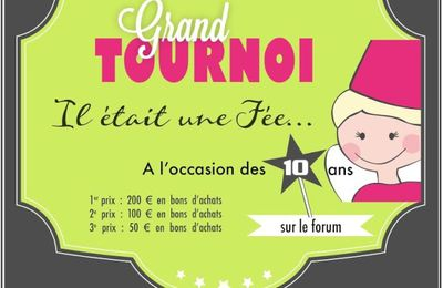 GRAND TOURNOI DE LA FEE DU SCRAP