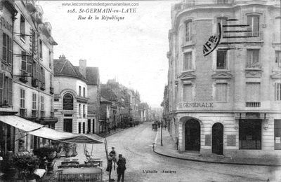 Rue de la République, à Saint-Germain-en-Laye
