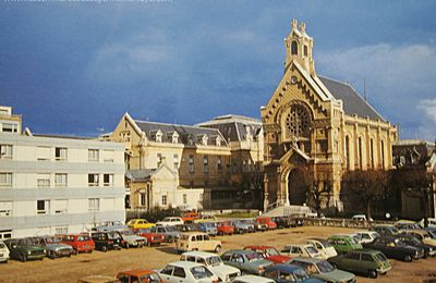 Quand le parking de l'hôpital Saint-Germain-en-Laye était en terre