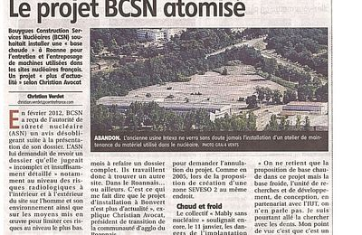 Bouygues nucléaire renonce à Bonvert et peut-être au Roannais