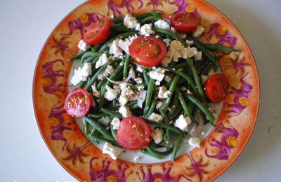 Salade de haricots verts à la Féta...