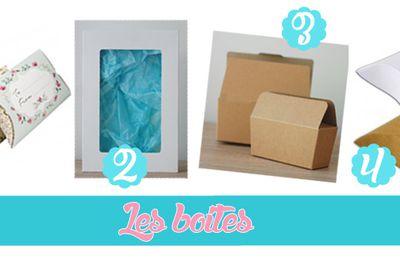 Les différents packagings Ma Jolie Papeterie