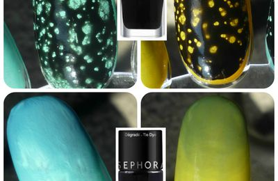Sephora - tests top coat à effets