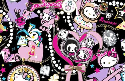 Stylo Tokidoki Hello Kitty