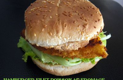 HAMBURGER FILET POISSON PANE AU FROMAGE 9PP