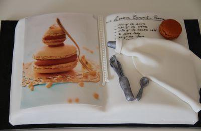 """Gâteau 3D """"livre de cuisine"""""""