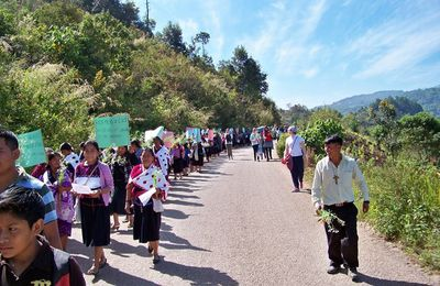 8 mars en solidarité avec les femmes du Chiapas