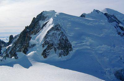 J'ai perdu le Mont Blanc dans la neige