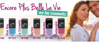 1ère commande LM COSMETIC