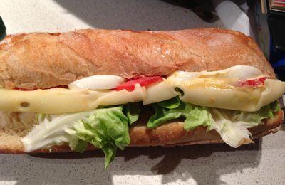 sandwich bien consistant!!!