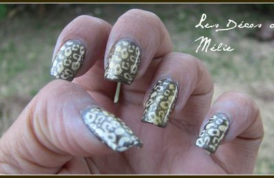 Nail art défi : jour 13 Animal Print