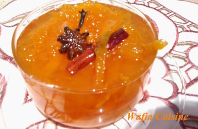 Confiture d'orange aux épices