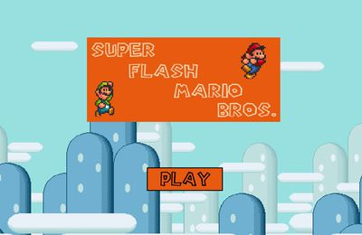 Super flash Mario Bros