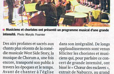 "Article ""La Tribune Le Progrès"" du 10 Juillet 2013"