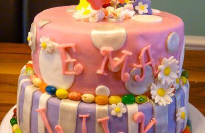 Gâteaux amusant pour fille