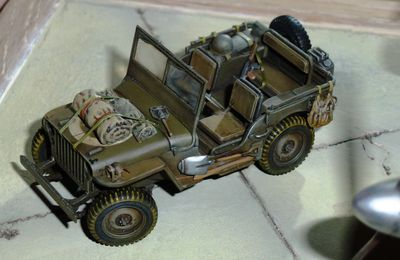 Jeep WILLYS 1944. Montage maquette TAMIYA 1/48