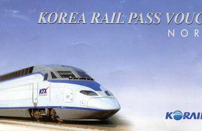 Le KR Pass et les billets de train