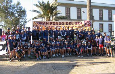 Gran Fondo del Sol (7^ ed.). La stagione ciclistica inizia in Gran Canaria con il viaggio all'insegna di sport e relax organizzato da Xevents. L'ex-calciatore Giovanni Bia è stato il più veloce