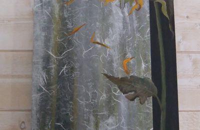 Tableau avec carte de Gaelle Boissonnard (Home - déco )