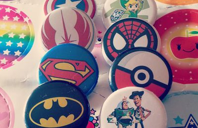 Badge It: faire ses propres badges (de geek) imprimables