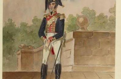 Garde de la porte - Maison du Roi - 1814