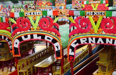 Visite photo de Xoximilco, un quartier classé au patrimoine mondial à Mexico au Mexique