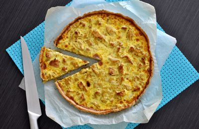 Tarte Poulet-Curry