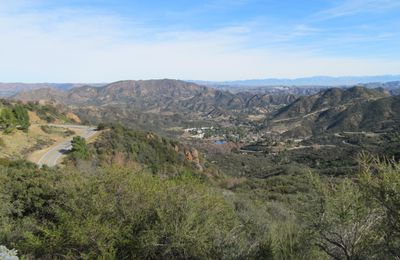 WINTER TRIP - JOUR 6: Arrivee en terre promise: L.A.!! avec Mulholland Drive, Griffith Park and Hollywood Blvd
