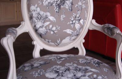 La Restauration du mon fauteuil est enfin terminée