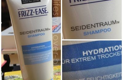 REVIEW: John Frieda Frizz-Ease Seidentraum Shampoo