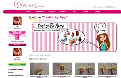 Fermeture définitive de Creation by Aimy DESTOCKAGE