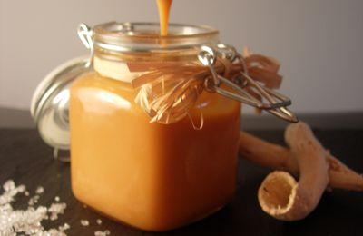 Sauce au caramel au beurre salé