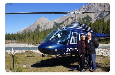 #Canada: Hélicoptère, voiture ou train ?